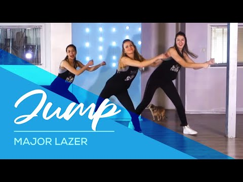 Jump - Major Lazer - HipNThigh Booty & Legs WORKOUT - Dance easy choreography