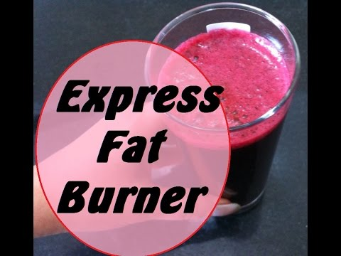 Express Fat Burner Detox Drink Recipe Natural Homemade Remedy to lose weight