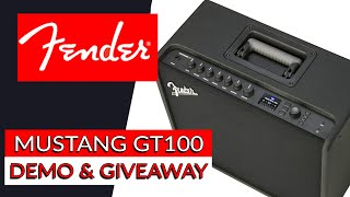 Fender Mustang GT100 Demo & Giveaway - Warren Huart: Produce Like A Pro