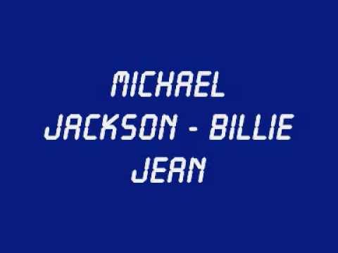 Michael Jackson - Billie Jean (with Lyrics + Hq Sound) video
