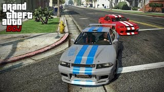 GTA 5 Roleplay - DOJ 186 - Skyline Street Race (Criminal)