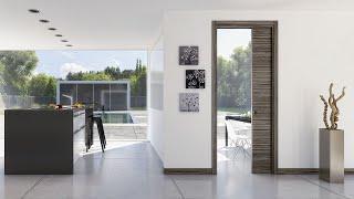 Video 3D controtelaio Evolution Singolo di Ermetika