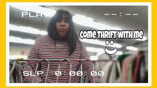 Come thrift with me + mini try on haul