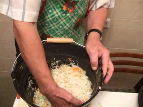 Как приготовить квашеную капусту - видео