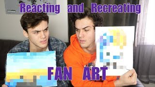 Reacting and Recreating: FAN ART