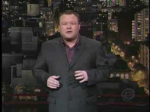 Frank Caliendo on Letterman
