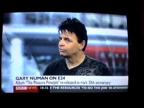 GARY NUMAN on BBC NEWS e24