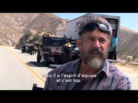 Mel Gibson Interview (06/2015) Blood Father Behind the Scenes footage