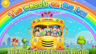 Wheels On The Bus English Subbed | Baby Songs | Nursery Rhymes 2015