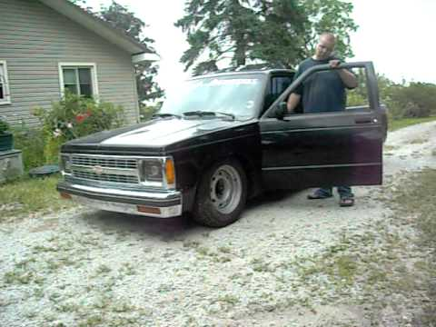 bagged 1989 s10 custom 1957 chevy dash for sale youtube. Black Bedroom Furniture Sets. Home Design Ideas