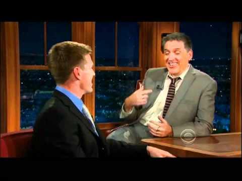 Craig Ferguson 3/8/12E Late Late Show Carl Edwards