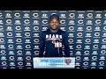 Eddie Jackson on working with new DC Sean Desai   Chicago Bears