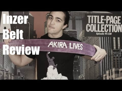 INZER Weight Lifting Belt Review: 10mm Forever 1-Prong Belt