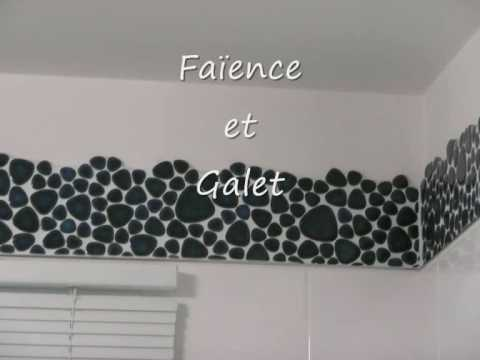 salle de bains avec des galets youtube. Black Bedroom Furniture Sets. Home Design Ideas