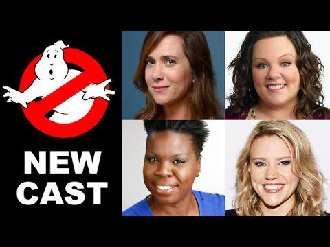 Ghostbusters Cast! Melissa McCarthy, Kristen Wiig, Kate McKinnon & Leslie Jones - Beyond The Trailer