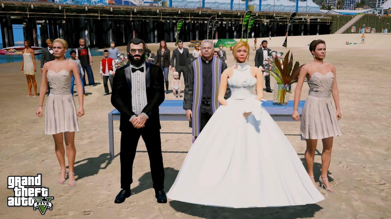Trevor hambright wedding