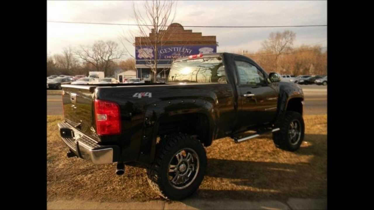 2013 Chevy Silverado Rocky Ridge Conversion Lifted Truck