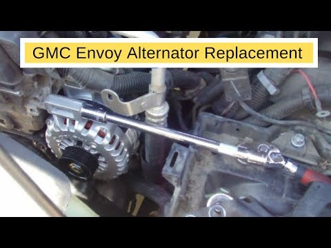2003 GMC Envoy alternator replace