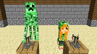 Monster School: Girls vs Boys Brewing Challenge - Minecraft Animation