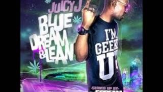 Juicy J - Flood Out The Club (Feat. Casey Veggies) [ Blue Dream & Lean Mixtape ]