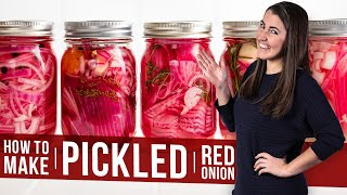 How to Make Pickled Red Onions | The Stay At Home Chef