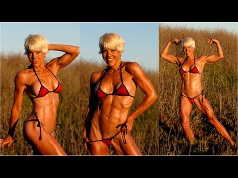 Christine Le Monde Gorgeous 50 Year old Personal Fitness Trainer Shoots with Rob Sims Studios