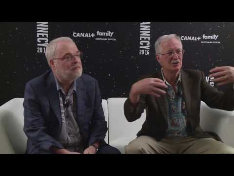 John Musker & Ron Clements - Annecy 2016