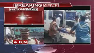 CNG Gas cylinder Explodes in Auto at Kurnool, one lost life few wounded | ABN Telugu