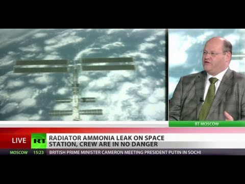 Cosmic Loss: ISS suffers ammonia leak