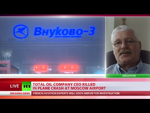 Vnukovo plane crash: Snowplow driver drunk in collision with Total CEO's jet