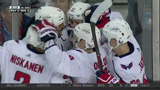 Gotta See It: Capitals' Vrana splits Bruins D, beats Khudobin