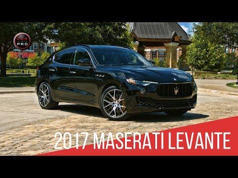 2017 Maserati Levante Test Drive
