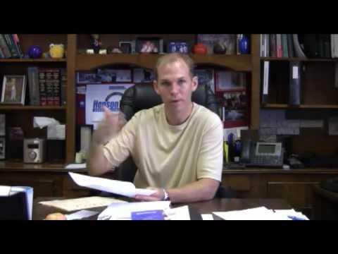Declaration Page - HensonFuerst, Raleigh Personal Injury Attorneys