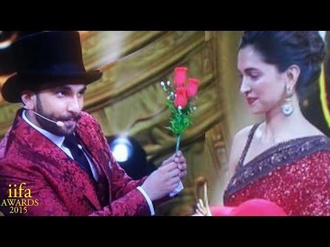 IIFA Awards 2015   Ranveer Singh PROPOSES girlfriend Deepika Padukone
