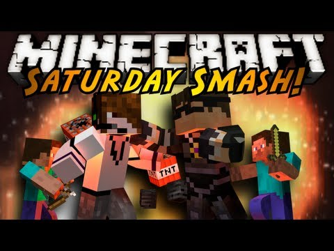 Minecraft Mini-Game : SATURDAY SMASH EPISODE 1!