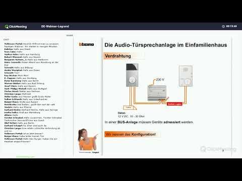 Online Schulung | Polaritätsfreie 2-Draht-Sprechanlagen-Technik – Grundlagen