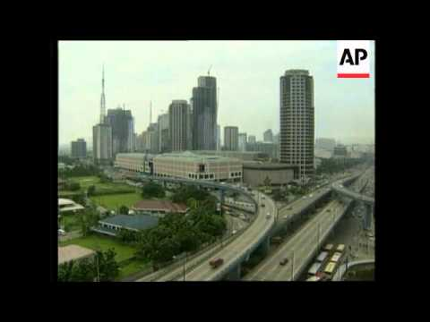 PHILIPPINES: SOCIO ECONOMIC DIRECTOR ECONOMY PRESS CONFERENCE