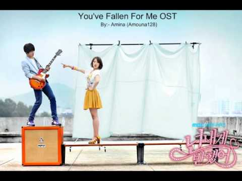 Jung Yong Hwa (you've Fallen For Me Ost) - You've Fallen For Me + Lyrics video