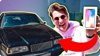 Trading My iPhone X For A Car