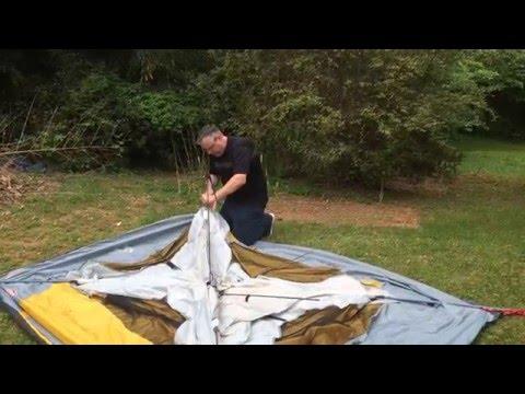 Coleman Tent Poles Stuck Quick Fix