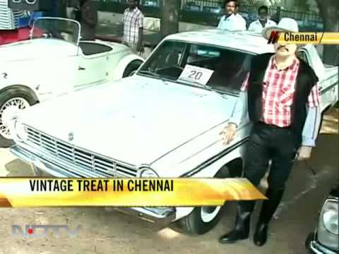 Vintage treat in Chennai