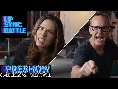 Clark Gregg vs. Hayley Atwell (Preshow) | Lip Sync Battle