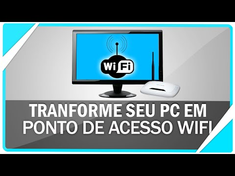 Como transformar seu PC em um ponto de acesso Wifi - Sem programas