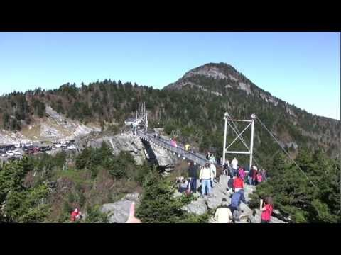 Hike to Macrae Peak, Grandfather Mountain, NC