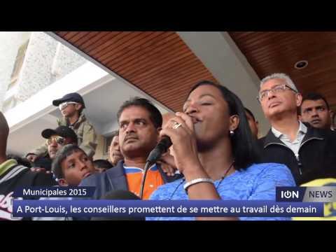 A Port-Louis, les conseillers promettent de se mettre au travail dès demain
