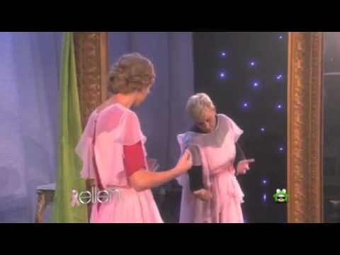 Taylor Swift Scared on Ellen 5 Times
