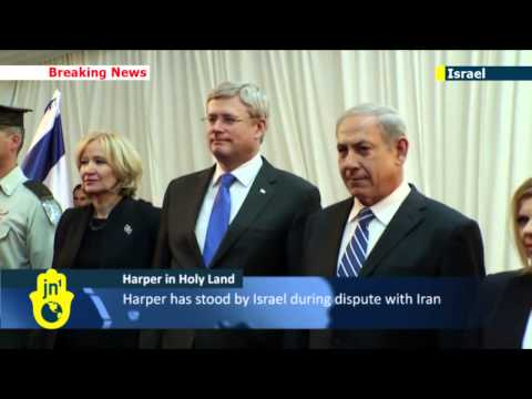 Stephen Harper arrives in Israel: Netanyahu praises Canadian PM's support for Jewish state