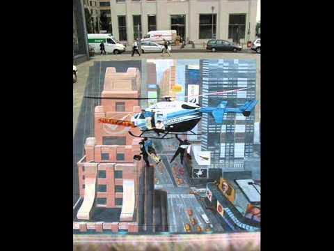 Julian Beever's Sidewalk Chalk Art to Gottschalk's Cakewalk