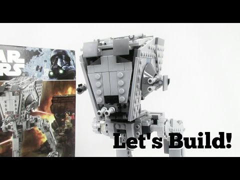 LEGO Star Wars: Rogue One AT-ST Walker 75153 - Let's Build!