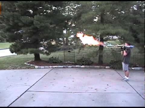 FRANKENHORN Flamethrower Trombone (aka Scott 's Flamebone)
